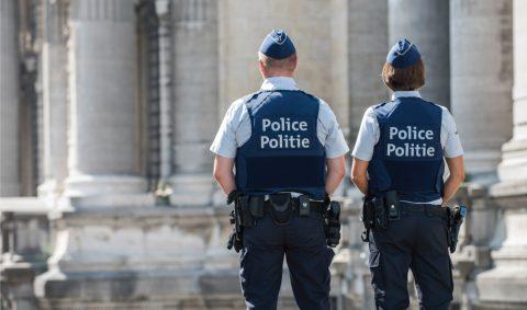 Politieagenten in Belgie BEELD politie be