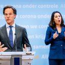 2020-05-06 20:43:22 DEN HAAG - Premier Mark Rutte na afloop van een persconferentie op het ministerie van Veiligheid en Justitie, na een overleg van de Ministeriele Commissie Crisisbeheersing (MCCb) over het coronavirus. ANP BART MAAT