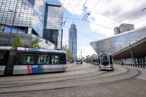 Rotterdam CS. Foto: Jan Kok