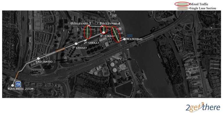Nieuw traject ParkShuttle BEELD 2getthere