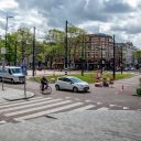 West-Kruiskade Rotterdam deels afgesloten voor gemotoriseerd verkeer BEELD Eric Fecke/gemeente Rotterdam