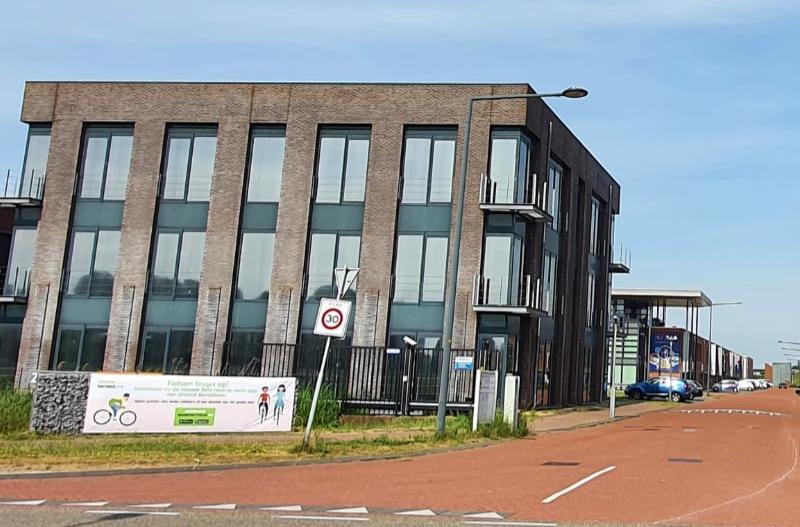 Een bedrijventerrein in de IJmond waar aandacht wordt gevraagd voor fietsstimulering BEELD IJmond Bereikbaar