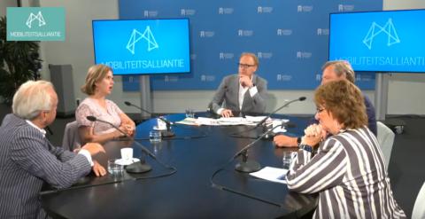 Presentatie nieuwe versie Deltaplan Mobiliteit BEELD Mobiliteitsalliantie:Nieuwspoort