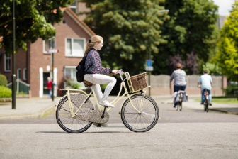 Kind op fiets. Foto: VVN