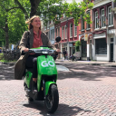 Scooter van Go Sharing BEELD Go Sharing