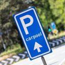 Carpool-parkeerplaats (foto: ANP)