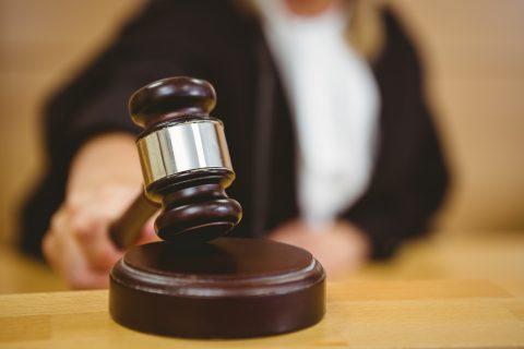 Rechter, rechtbank en uitspraak (Bron: iStock / Wavebreakmedia (onbeperkt gebruik)