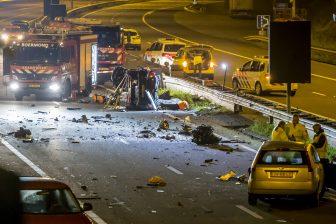 Ongeval met spookrijder op A73 (bron: ANP)