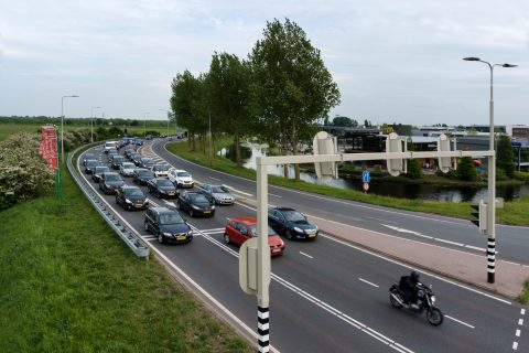 Kruispunt in Hoofddorp