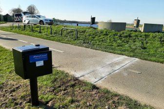 Vast meetpunt voor fietstelling Noord-Brabant