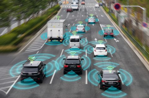 Autonome, connected cars in Eindhoven (smart mobility)