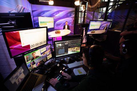 VerkeersNet Journaal, studio Rotterdam