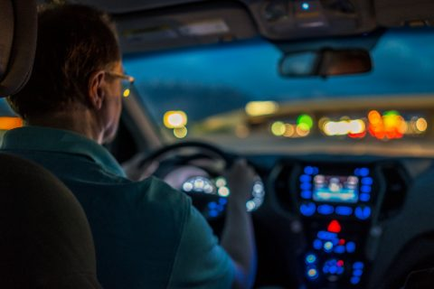 Verkeersveilig rijden in het donker, test VVN