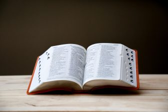 Woordenboek (bron: unsplash)