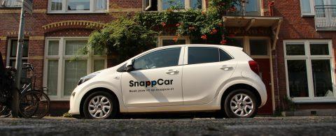 Deelauto van Snappcar