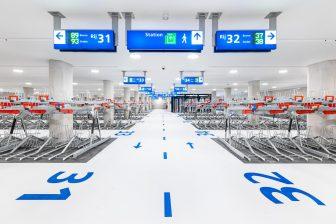 Nieuwe ondergrondse fietsenstalling in Zwolle
