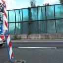 Pijlwagen bij wegwerkzaamheden snelweg