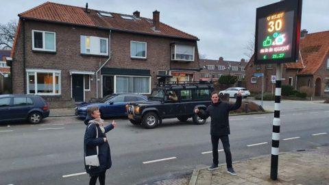 Spaarpaal gemeente De Bilt Utrecht (bron: Utrecht)