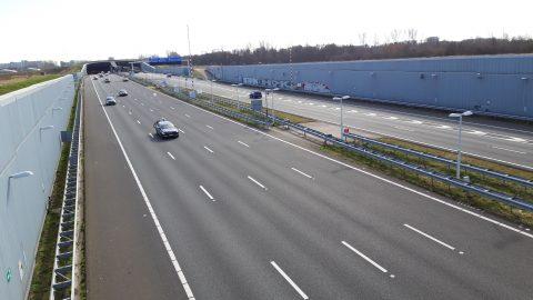 A4 Ketheltunnel, snelweg, corona