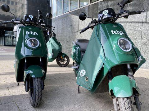 Felyx deelscooter