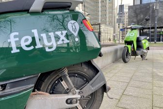 Felyx en Go deelscooter