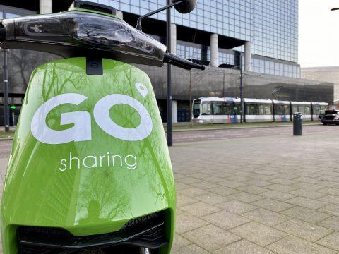 Go deelscooter + tram
