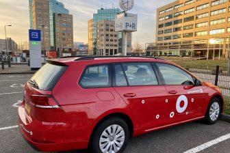 Greenwheels deelauto Schiedam