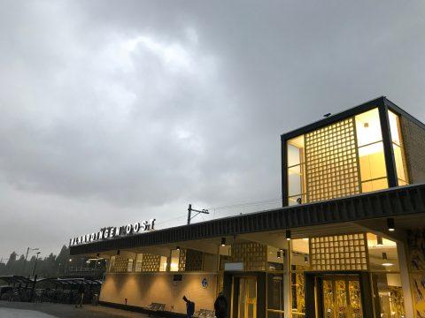 Station Vlaardingen-Oost van Hoekse Lijn