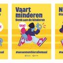 Affiche verkeerscampagne Hilversum