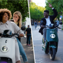 Deelscooters in app 9292