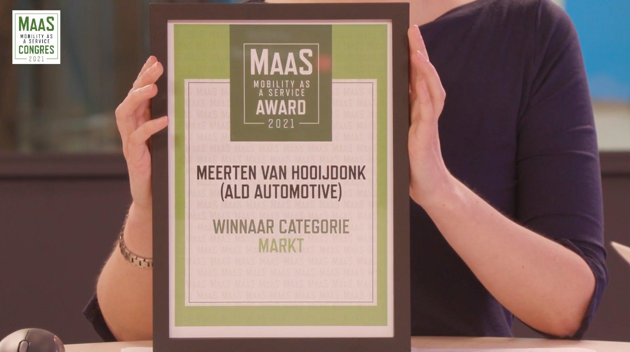 MaaS Awards Meerten van Hooijdonk