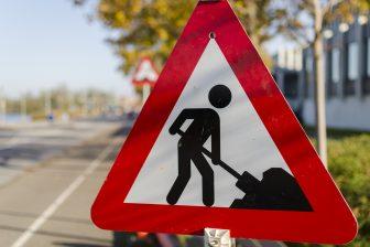 Verkeersbord wegwerkzaamheden (bron: EsbenS via Pixabay)