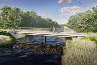 Hout-betonbrug (bron ipv Delft)