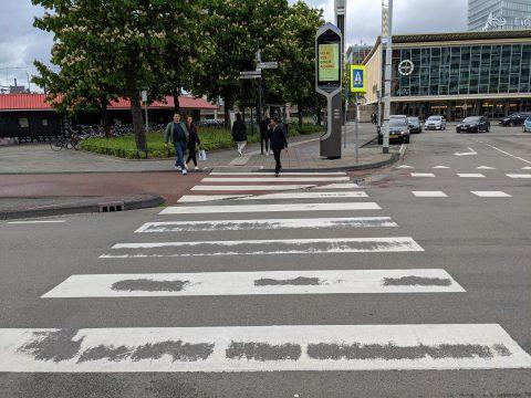 Zebrapad in Eindhoven
