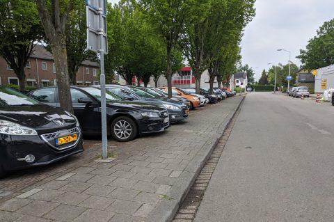 Parkeerplaats in Breda