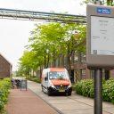 PostNL-bus rijdt naar Smart Zone van Coding the Curbs