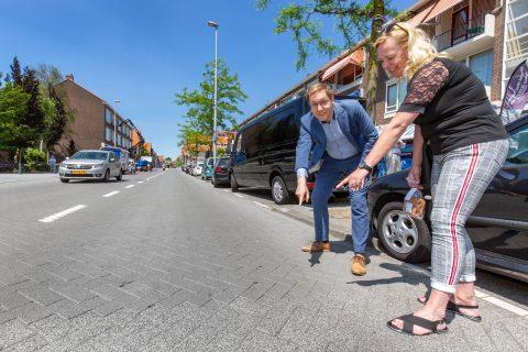 Stille straatklinkers verminderen geluidsoverlast (bron: Arnoud Verhey)