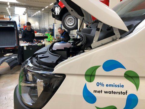 Bestelwagen op waterstof (bron: ministerie van IenW)