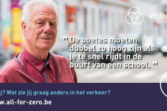 België vraagt burgers om advies voor verkeersveiligheid