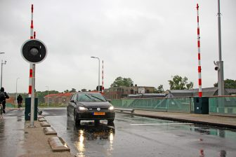 Koningin Julianabrug in Alphen aan den Rijn (bron: ANP)