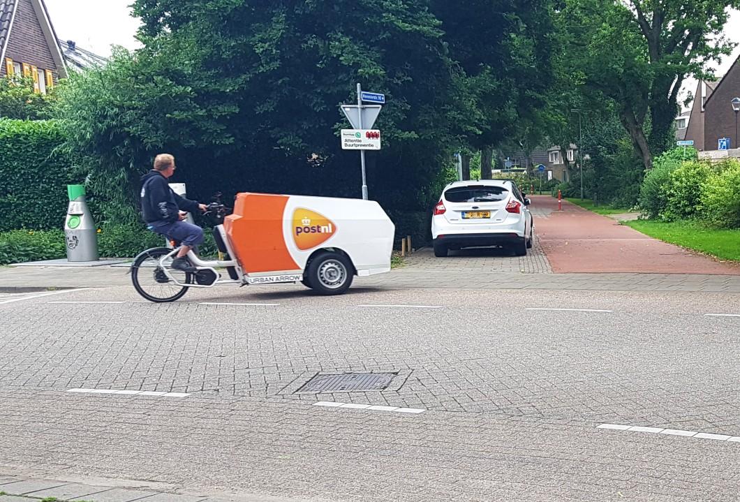 PostNL bakfiets, LEV in Breda