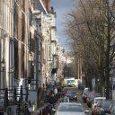 Auto's op de Keizersgracht in Amsterdam (bron: Sabine Joosten/ Hollandse Hoogte)