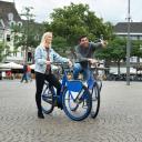 Deelfiets van Arriva in Maastricht