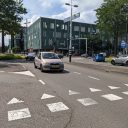 Verkeer op kruispunt in Eindhoven