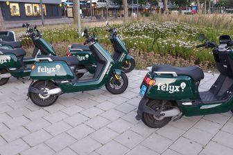 Felyx deelscooters (foto: VK)