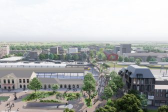 Loopbrug Zwolle (bron: 'beeld: Karres en Brands/ipv Delft')