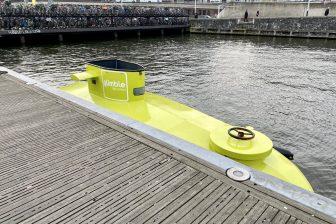 Duikboot Arriva glimble