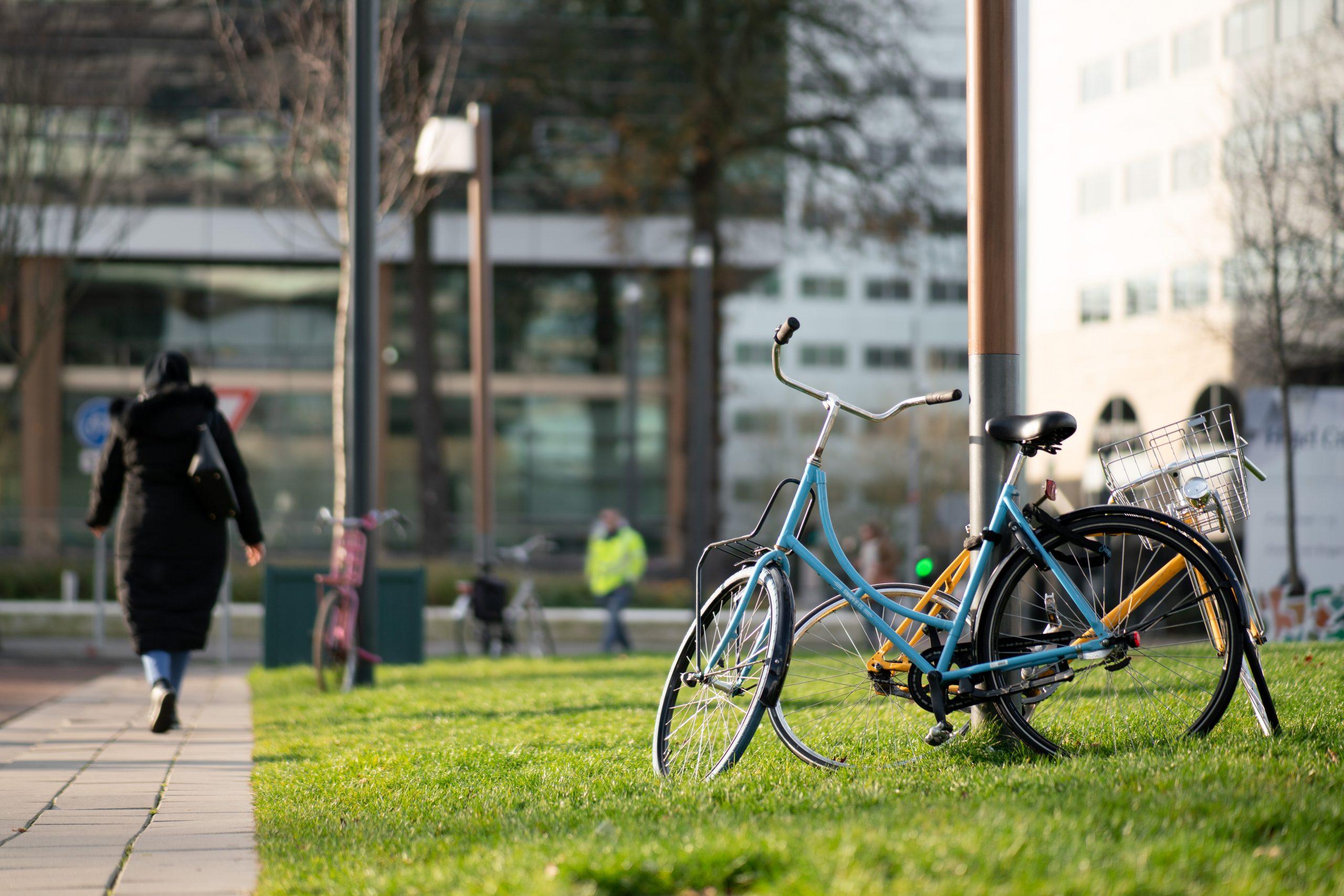 Geparkeerde fiets. Foto: Spark