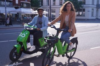 GO-Sharing, e-deelfiets, e-deelscooter